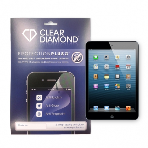 iPad Mini Protection Plus Anti Glare Screen Protector (Pack of two)
