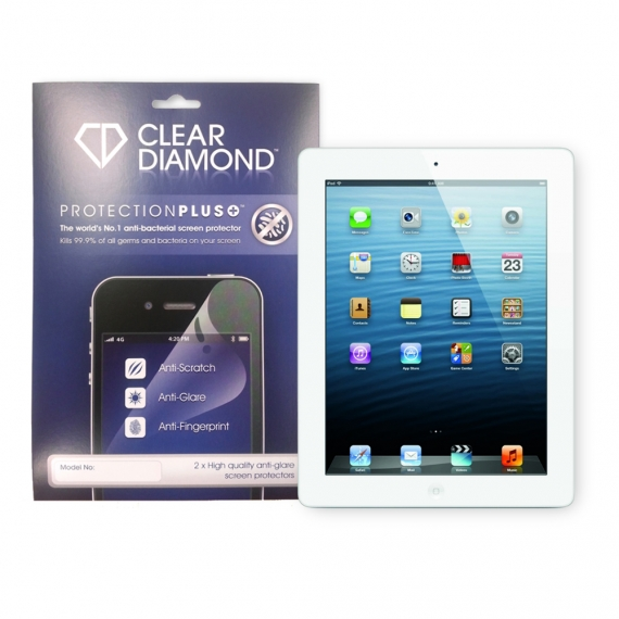 iPad 2/3/Retina  Protection Plus Anti Glare Screen Protector (Pack of two)