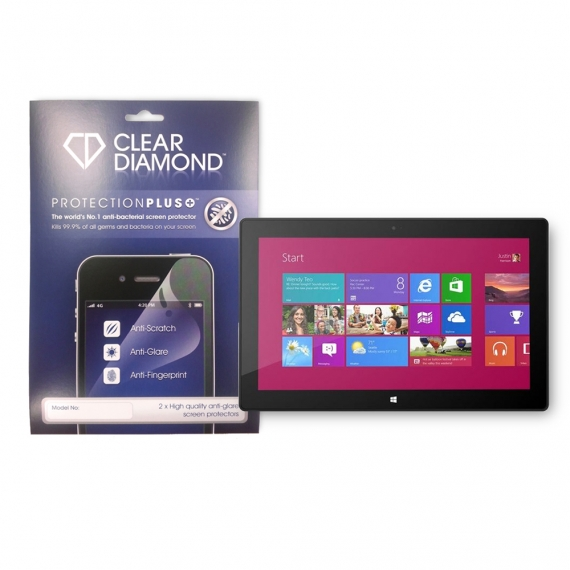 MICROSOFT SURFACE PRO 3 Protection Plus Anti Glare Screen Protector (Pack of two)