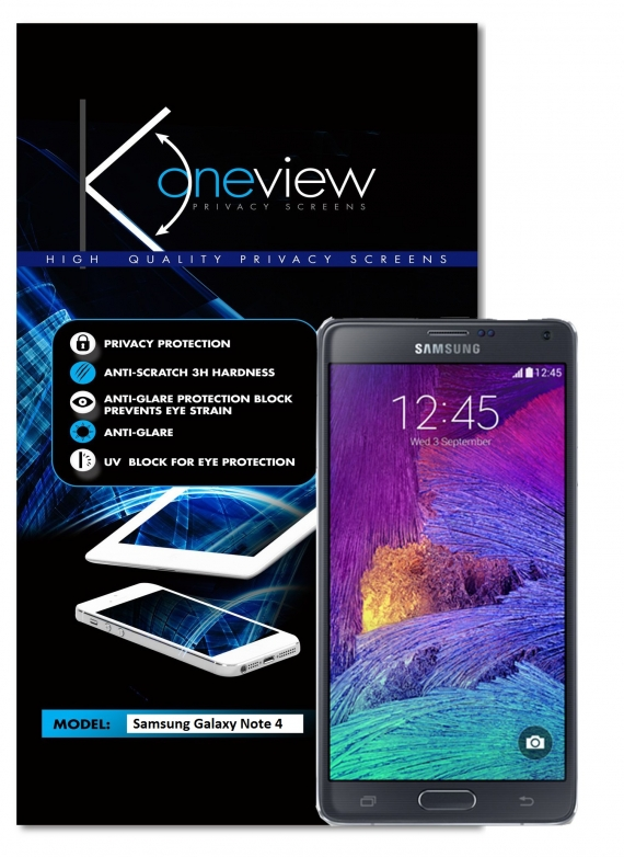 Samsung Galaxy Note 4 Oneview
