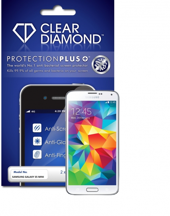 Samsung S5 Mini Protection Plus Anti Glare Screen Protector (Pack of two)