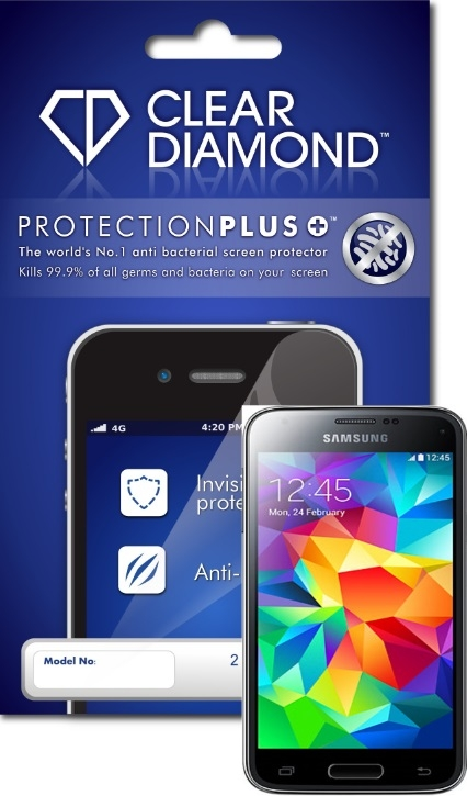 Samsung S5 Mini Hardcoat Screen Protector (Pack of two)